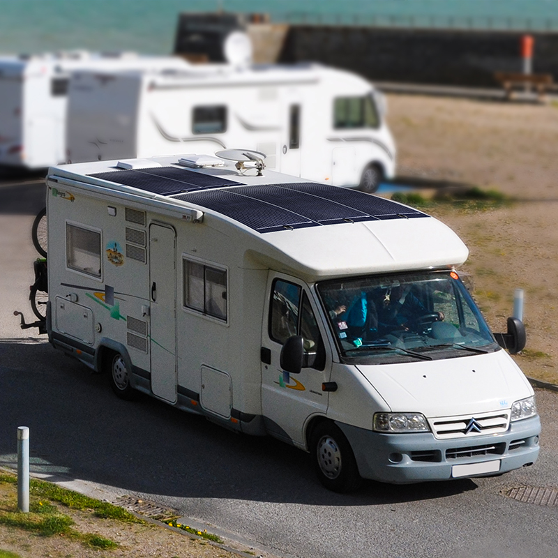 Flexible Solar Panel is A Great Option for Camping or RV